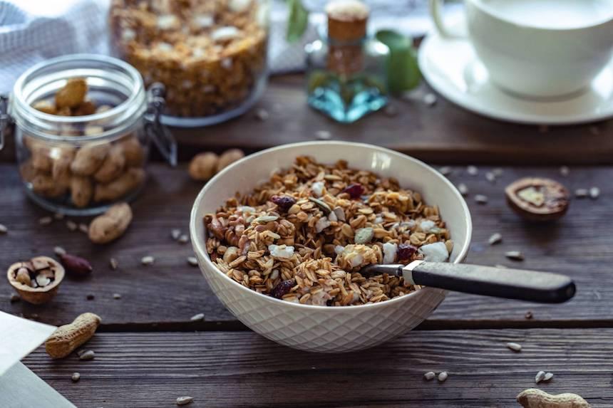 Muesli-breakfast-option